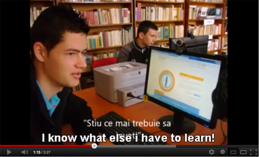 Get Online Week 2012 at Pietrari Library (Romania)