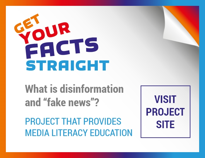 Get Your Facts Straight - Project That Provides Media Literacy Education
